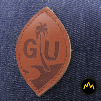 Logo Type Leather Patch