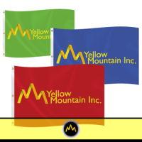 Colorful Message Flags