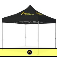 Tent Printed with Logo